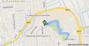 kaart Schoonhoven